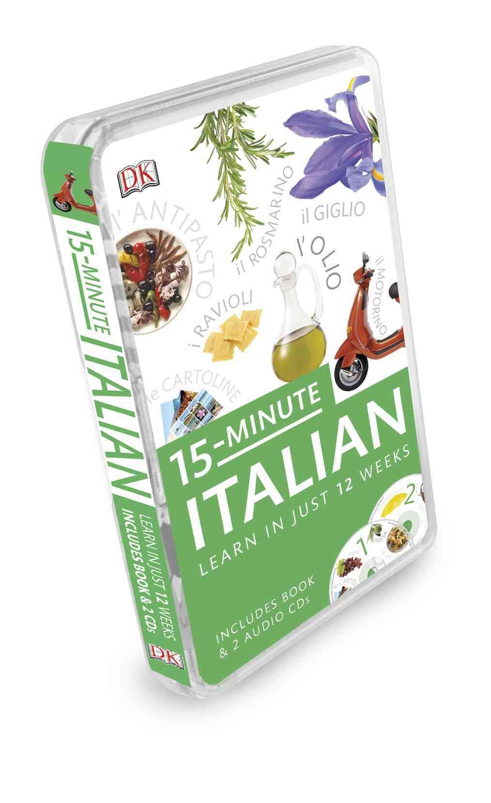 15-Minute Italian By Dorling Kindersley, Inc. (COR)